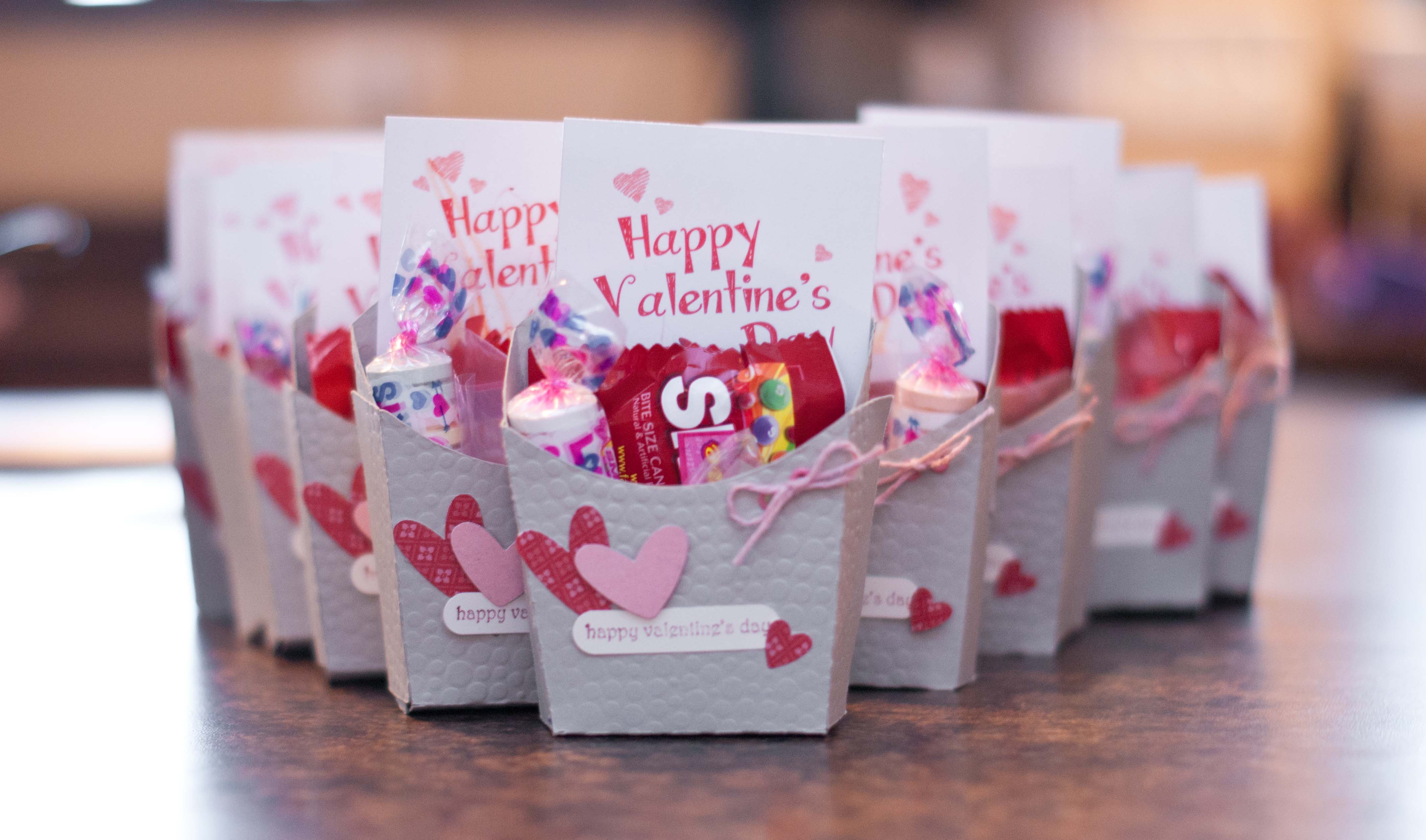 french fry box template – Box Valentine Cards