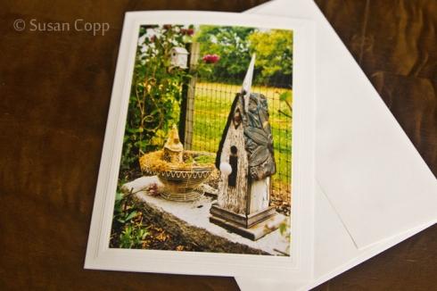 Birdhouse Photo Greeting Card
